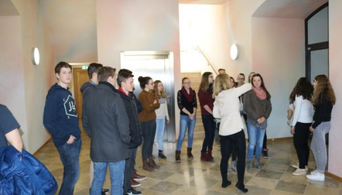 Realschule Geisenfeld besucht FOS