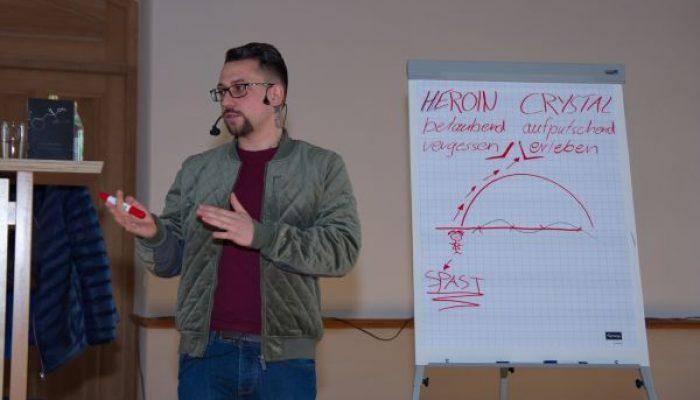 Drogenprävention – Dominik Forster an der BO Scheyern
