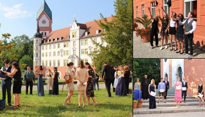 Scheyern verabschiedet voller Stolz seine Abiturientinnen und Abiturienten