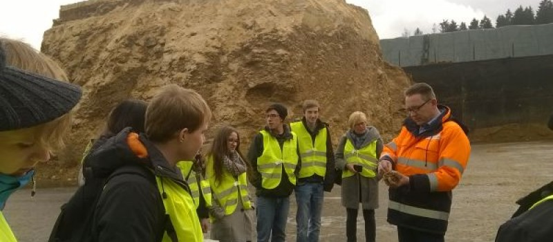 Trip to biogas plant in Wolnzach