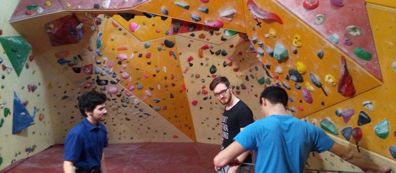 Neu im Lehrplan: Klettern